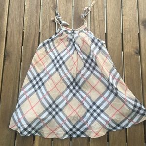 Dress Burberry 3 / 6 months strapless